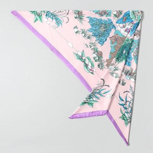 Silk Rina Square Scarf
