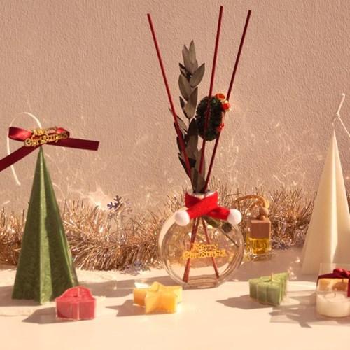크리스마스 얼음왕국 트리 필라캔들 인테리어 디자인 소품