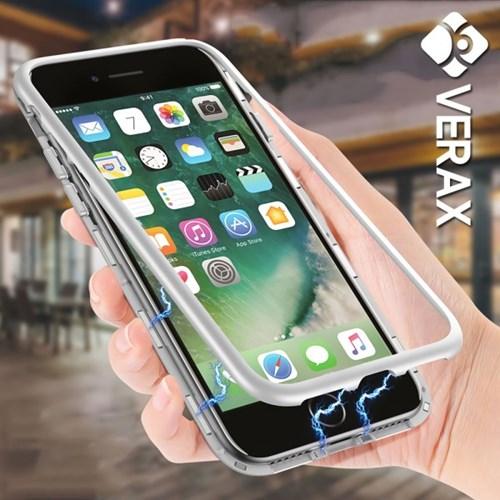 아이폰8플러스 마그네틱 강화유리 메탈 케이스 P261_(2293820)