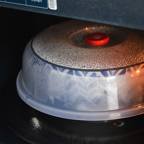 전자렌지 뚜껑 (23cm) 다용도 음식 덮개 친환경 전자레인지 용기