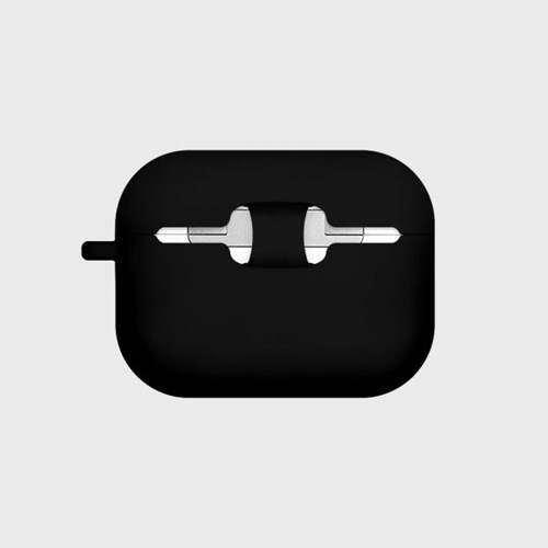 Smart bear friends-black(Air pods pro)_(1427543)