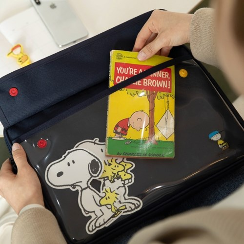 [Peanuts] 포켓 노트북 파우치 13인치