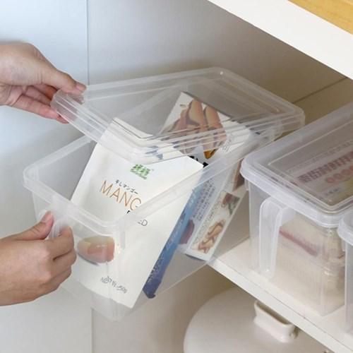 덮개형 냉장고정리용기 냉동실정리함