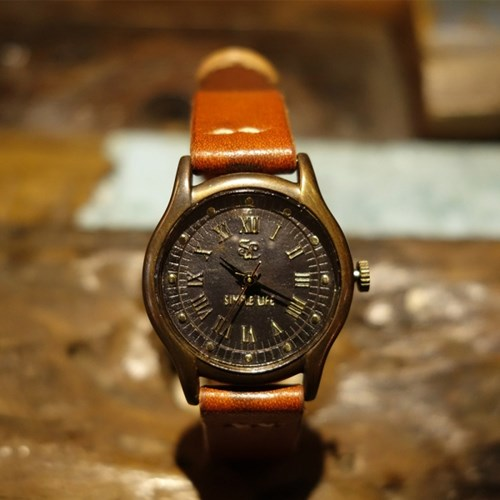 심플라이프 수공예 남여 핸드메이드 손목시계 SL007