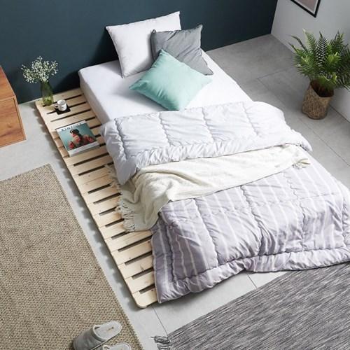 메이크코지 SE0등급 소나무 원목 접이식 침대깔판 전사이즈 시리즈
