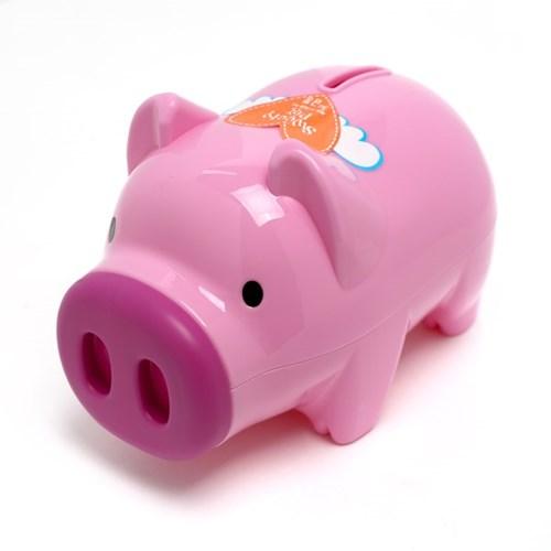 마키 파스텔 돼지저금통(대) / 잔돈저금통