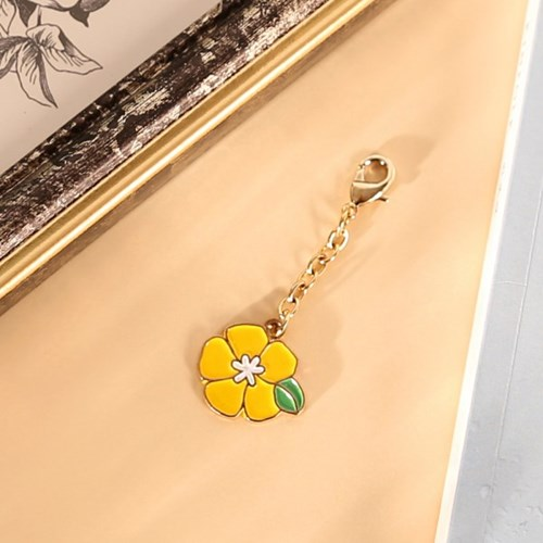 Birth Flower key ring (12종 택1)