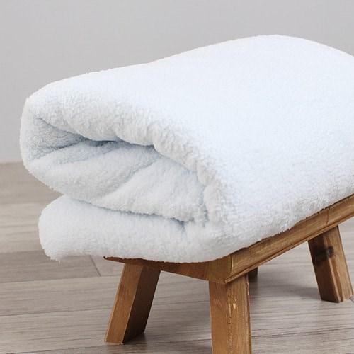 [데코봉봉]양털 원단(양면-스카이블루)