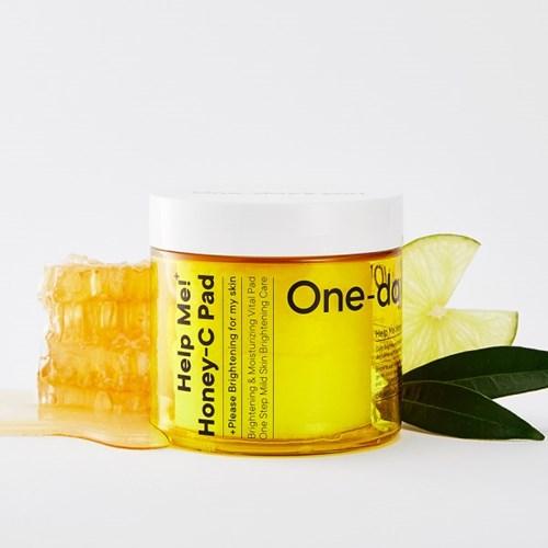 [원데이즈유] 헬프미 꿀광씨 패드 (60매)+물광마스크팩1매