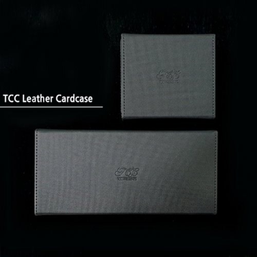 TCC가죽카드케이스(6덱-12덱 택1)