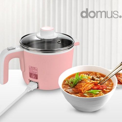 도무스 멀티포트 DK-607DL 라면포트 햇반데우기 1.2L 핑크