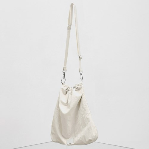 FENNEC FABRIC SLING BAG - WHITE