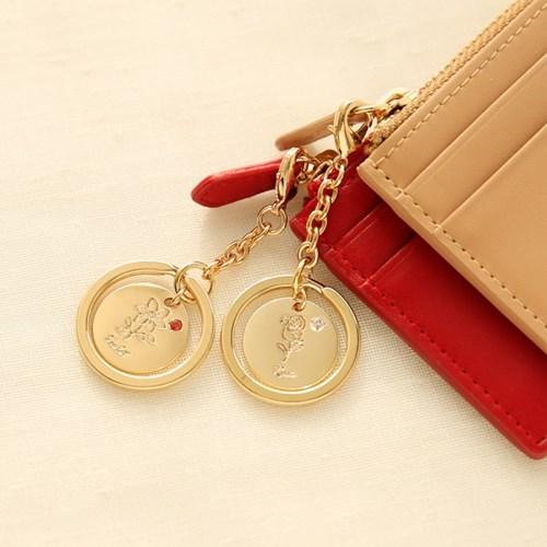 Birth Flower key ring (12종 택1)