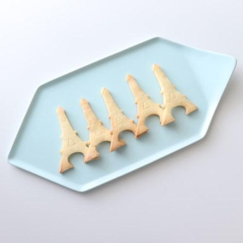 위즈라인 무광 육각 접시 / 디저트접시