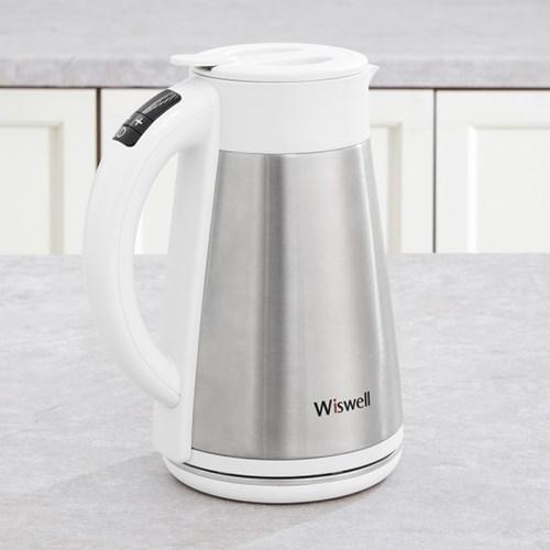 위즈웰 아이포트 WK4005 무선 전기 분유포트 티주전자