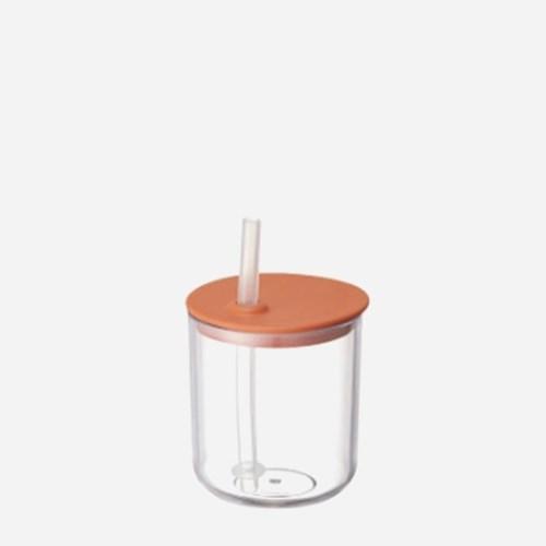 킨토 본보 스트로우 컵 200mm - 오렌지_(1541557)