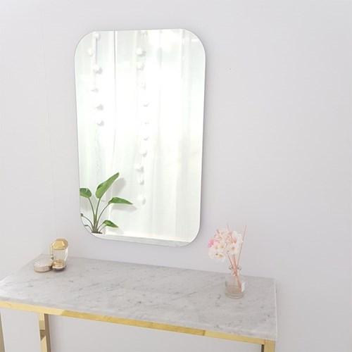 아트벨라 노프레임 라운드 거울 500x800