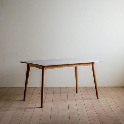 [리퍼브] 린 리놀륨 사각형 테이블 01_1400(파우더색상)