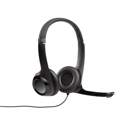 로지텍코리아 정품 H390 헤드밴드형 스테레오 헤드셋_(780350)