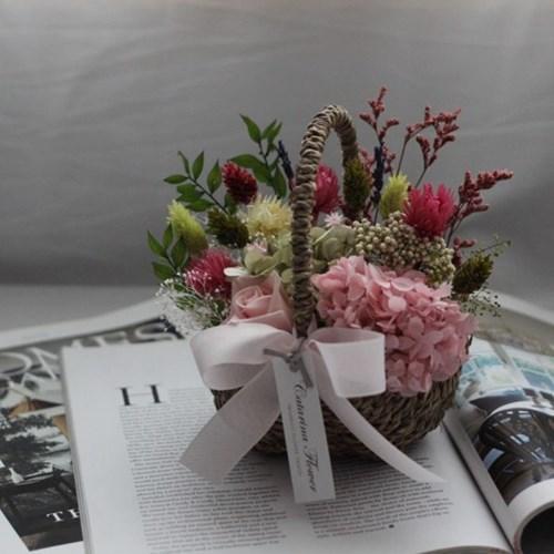 프리저브드 꽃바구니