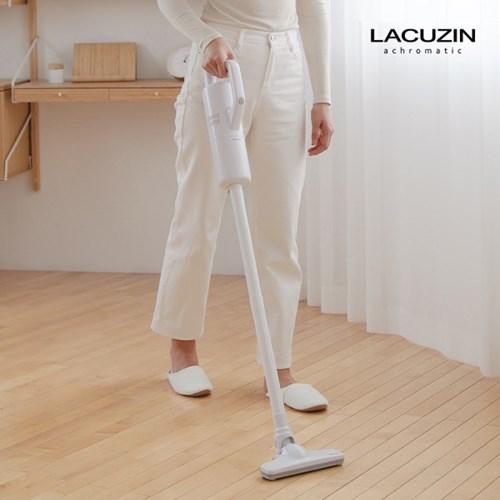 [21년형] 라쿠진 가정용 무선 진공 청소기 그레이