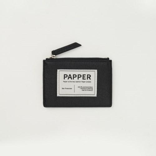 페퍼 카드지갑 블랙