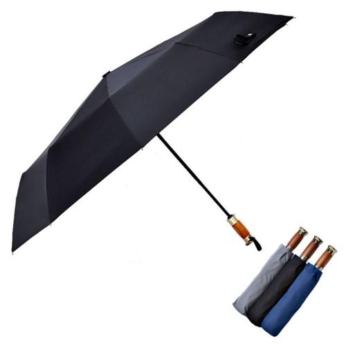 로베레 프리미엄 대형 3단자동우산 우드그립 3컬러 (3301)