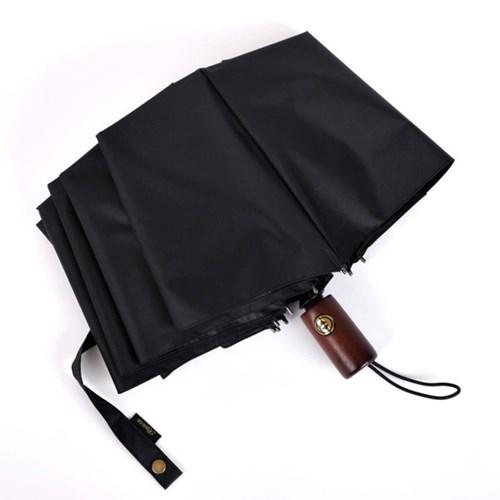 로베레 프리미엄 암막 자외선차단 3단자동 우산양산겸용 우드핸들