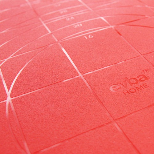 에바 실리콘 작업판-레드 L