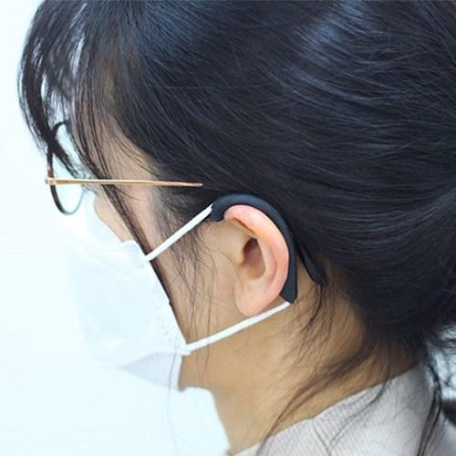 마스크 귀 안아프게 통증 아픔 보호 실리콘 이어가드