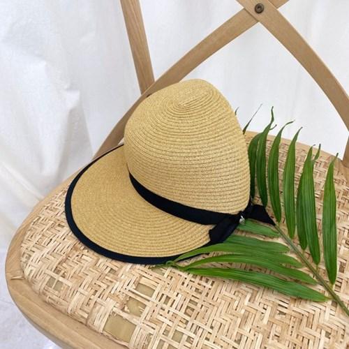 오리챙 나뭇잎 여성 여름 썬캡모자