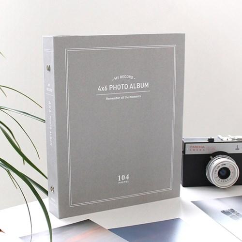나의 4X6 포토앨범(104포켓)