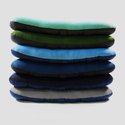 12000 메쉬슬림양면방석2(SP)-그린-블루