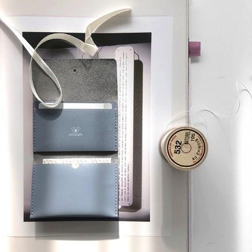 [텐텐클래스/홍대가죽공예] 직장인필수 명함지갑, 가죽지갑만들기