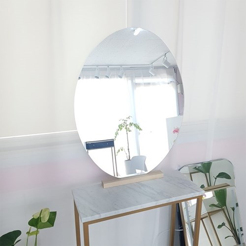 아트벨라 노프레임 거울 전용 원목 거울 받침대