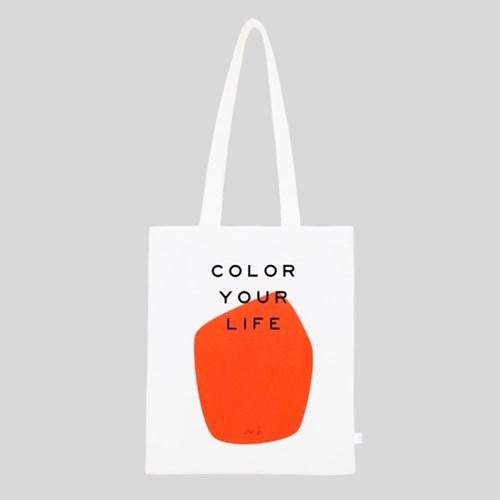 COLOR YOUR LIFE BAG_ORANGE PRINT