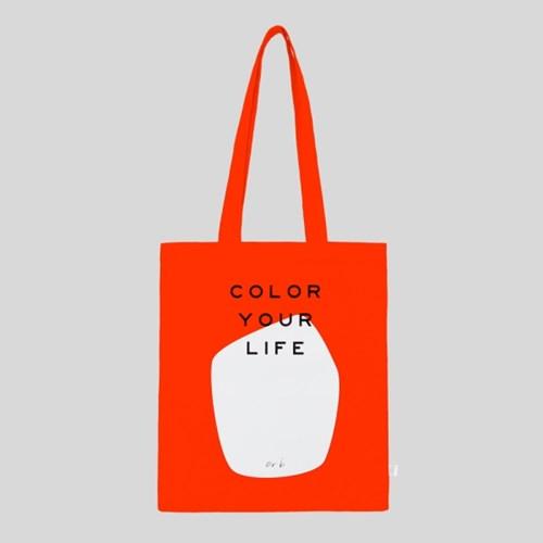 COLOR YOUR LIFE BAG_RED ORANGE