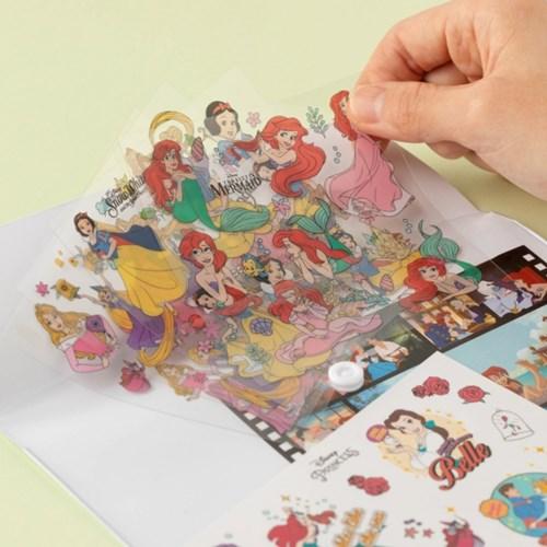 [디즈니] 스티커 팩_프린세스