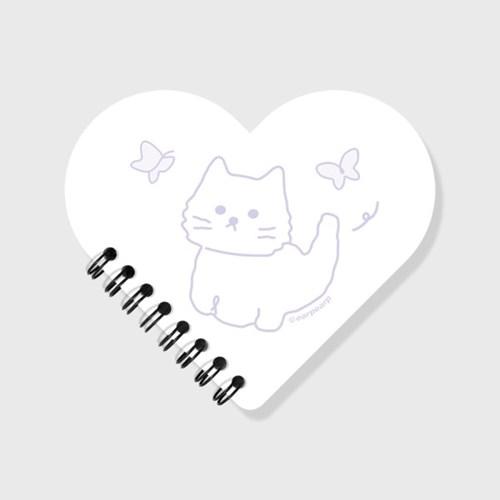Awesome cat-black(스프링노트)(S)_(1635835)