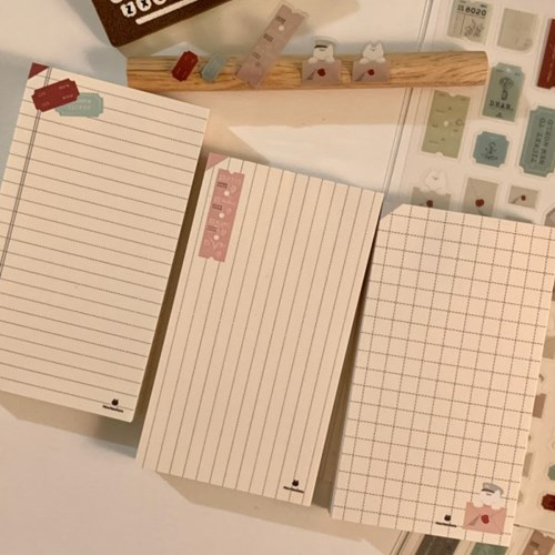 냥냥빔 simple memopad set
