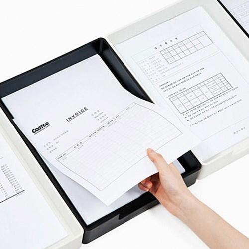 미다스 트레이 디자인 서류 받침 4 color