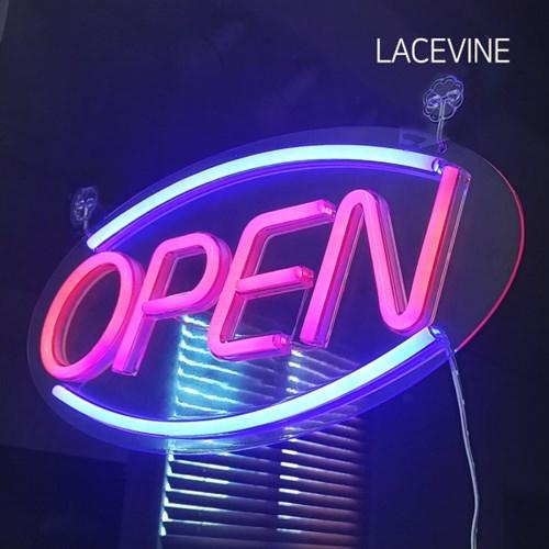 LED 네온사인 OPEN 오픈 개업간판 네온보드 영업중