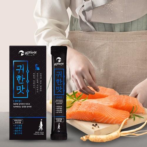 [배고파마이펫] 반려견전용 특제 보약식품 귀한맛 연어맛