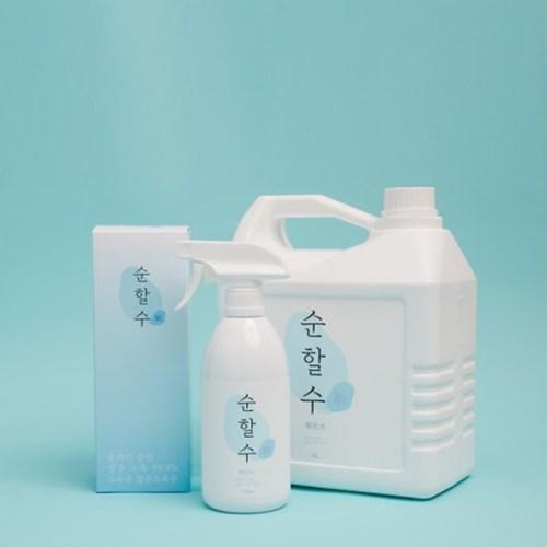 살균소독제 뿌리는 살균소독수 순할수 대용량 4L