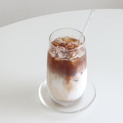 카페 슬림 롱 글라스 유리컵 홈카페 커피잔