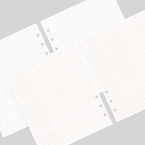 A6 와이드 체리픽 리필속지 모눈 v.2