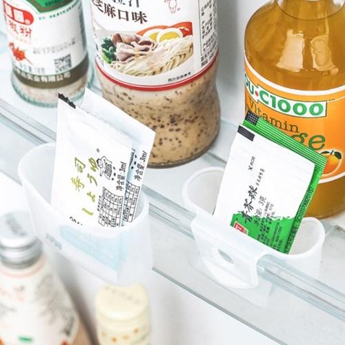 일회용소스 냉장고선반 정리대 2P [5033]