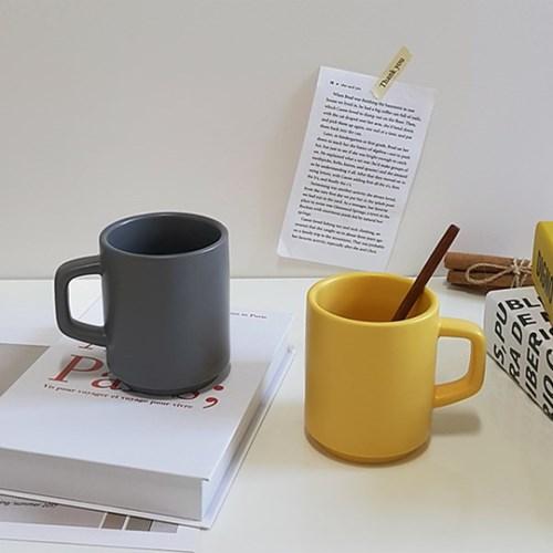 파스텔 무광 카페 머그컵(330ml) 집들이선물