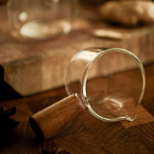 [칼딘] 홈카페 우드 에스프레소 샷잔 요거트 소스 볼 시럽잔