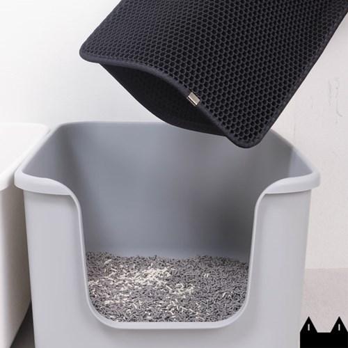 스타캣 고양이 모래매트_블랙(특대형60cmX100cm)